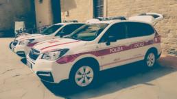 Bilancio di fine mandato Comune Arezzo | Due nuove Subaru Forester per la polizia locale